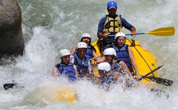 White water rafting, Rancho Baiguate
